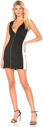 Bobi BLACK Racer Back Mini Dress