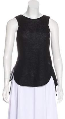 Emporio Armani Sleeveless Knit Top