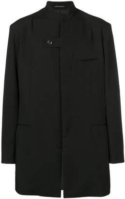 Yohji Yamamoto high collar jacket