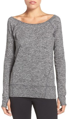 Zella 'Etoile' Long Sleeve Pullover $65 thestylecure.com