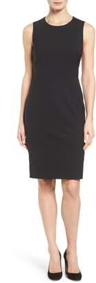 BOSS Dirusa Tropical Stretch Wool Dress
