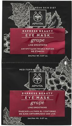 Apivita Express Line Soothing Eye Mask - Grape 2x2ml