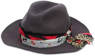 Zadig & Voltaire Zadig&Voltaire Alabama patchwork hat