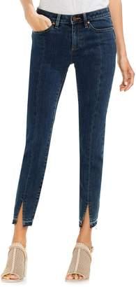 Vince Camuto Front Slit Skinny Jeans