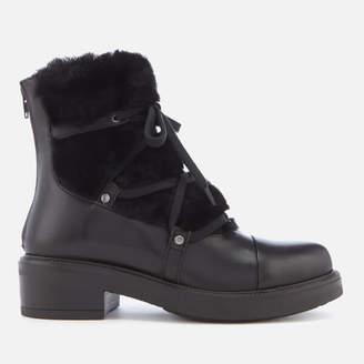 Carvela Women's Sharp Leather Hiker Style Boots
