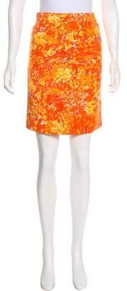Michael Kors Knee-Length Printed Skirt