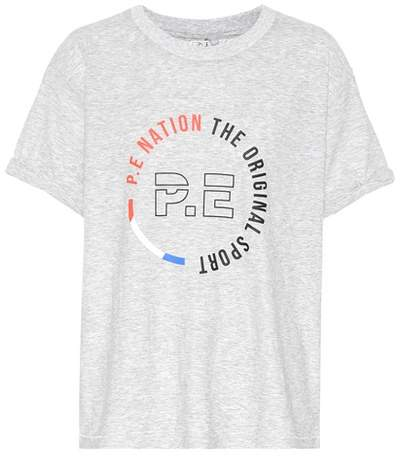 P.E Nation Jump Off cotton T-shirt