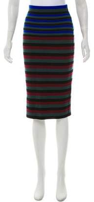 Ronny Kobo Wool Knee-Length Skirt w/ Tags