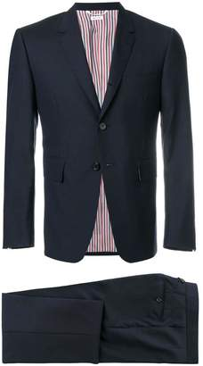 Thom Browne Classic Suit In Super 120's Plain Weave