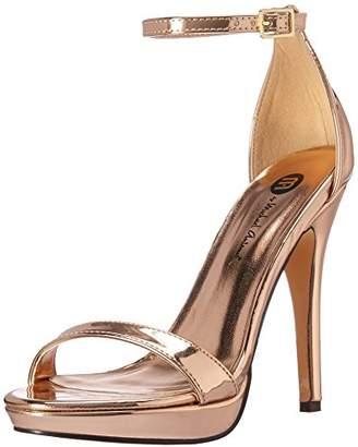 Michael Antonio Women's Lovina-MET Heeled Sandal