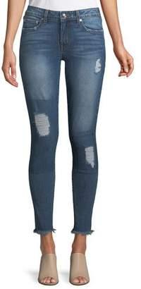 Derek Lam 10 Crosby Devi Mid-Rise Authentic Skinny-Leg Jeans