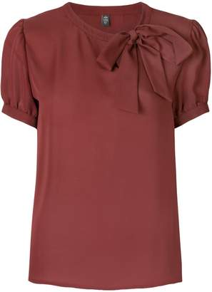 Eleventy bow detail blouse