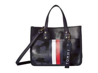 Tommy Hilfiger Raleigh Mini Canvas Coated Camo Shopper