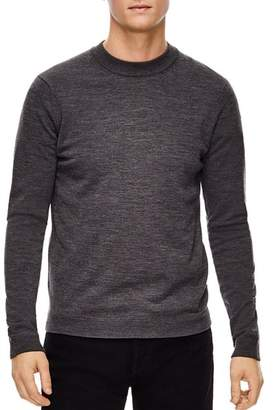 Sandro Merino Wool Crewneck Sweater