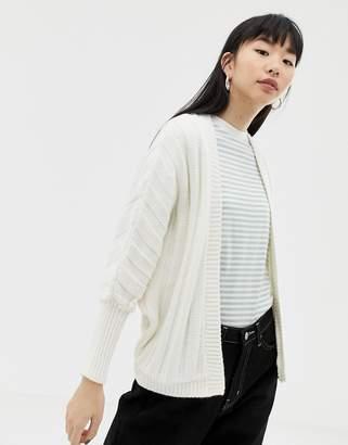 Asos (エイソス) - Asos Design ASOS DESIGN oversized cardigan in wide rib