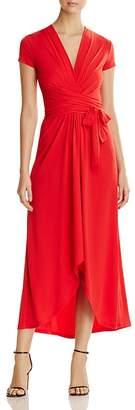 MICHAEL Michael Kors Cap Sleeve Maxi Wrap Dress $125 thestylecure.com