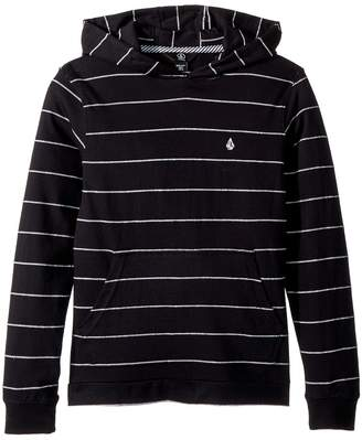 Volcom Wallace Long Sleeve Hoodie Boy's Sweatshirt