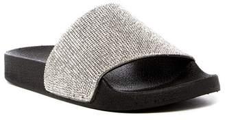 Steve Madden Iggy Rhinestone Slide Sandal