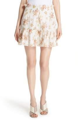 Rebecca Taylor Madeleine Floral Shorts