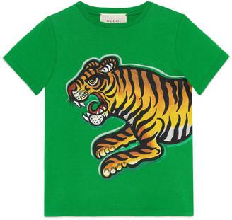 Children's tiger print t-shirt $160 thestylecure.com