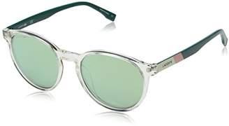 Lacoste Unisex L874s Round Color Block Sunglasses