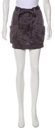 Robert Rodriguez Mini Twill Skirt