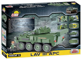 A.P.C. (アー ペー セー) - Cobi Small Army Lav Iii Apc Light Armored Vehicle 480 Piece Construction Blocks Building Kit