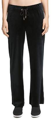 Donna Karan Velour Drawstring Pants