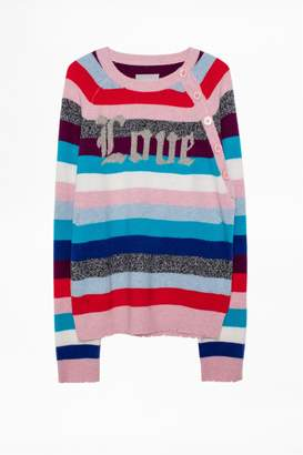 Zadig & Voltaire Justy Stripes Sweater