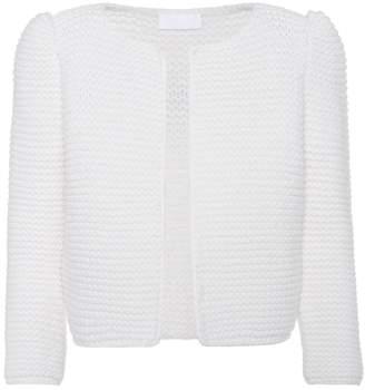 Co Hand-knit wool cardigan