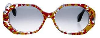 Morgenthal Frederics Rosie Assoulin x Gradient Gobstopper Sunglasses