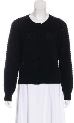 Marc Jacobs Cashmere Scoop Neck Cardigan