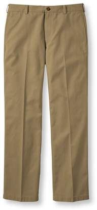 Men's Wrinkle-Free Double LA Chinos, Standard Fit Plain Front