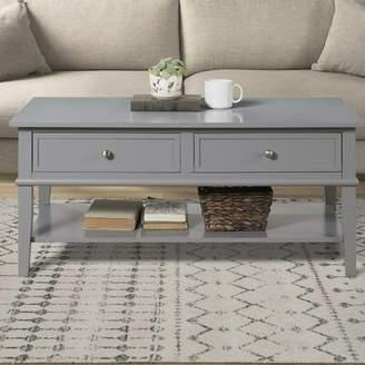 Beachcrest Home Dmitry Coffee Table with Storage