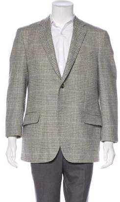 Etro Wool Plaid Blazer