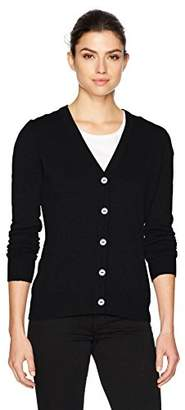 Foxcroft Women's Shirley Long Sleeve Solid Cardigan