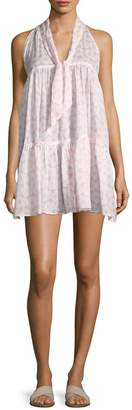 Lisa Marie Fernandez Ava Lily Sheer Mini Dress
