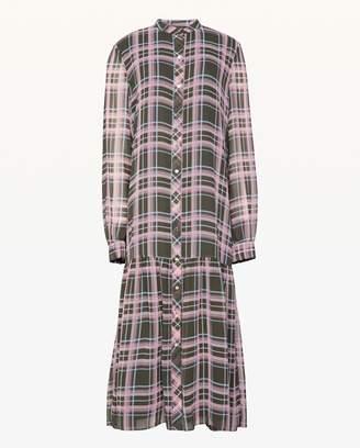 Juicy Couture Plaid Midi Dress