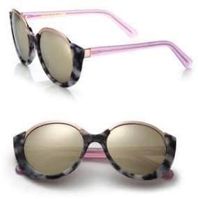 Cutler and Gross 1202 Mai Tai 55MM Acetate& Metal Sunglasses