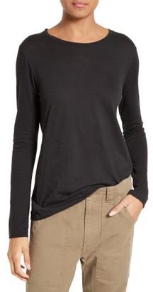 Women's Vince Long Sleeve Tee $85 thestylecure.com