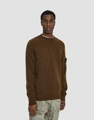 Stone Island Knit Crewneck Sweater in Mustard