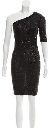 Stella McCartney Sequined One-Shoulder Dress
