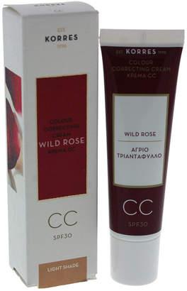 Korres 1.01Oz Wild Rose Cc Colour Correcting Cream Spf 30 - Light Shade