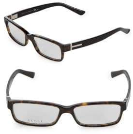 Gucci 50MM Rectangular Optical Glasses
