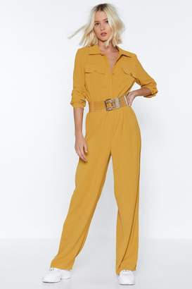 Nasty Gal One Jump Ahead Relaxed Jumpsuit