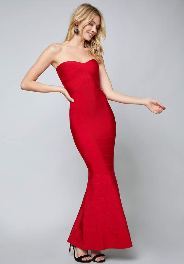 Bebe Strapless Bandage Gown – Shop Playsuitsandmore