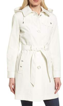 Gallery Belted Trench Raincoat