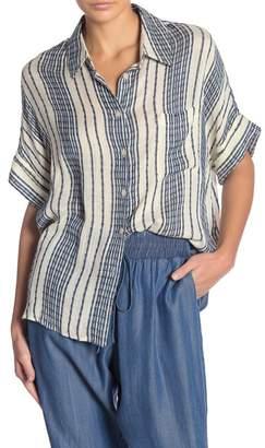 Etienne Marcel Relaxed Stripe Shirt