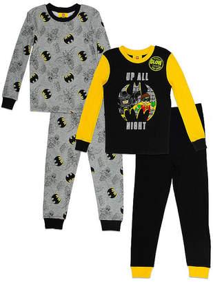 Lego Batman 4pc Pajama Set- Boys