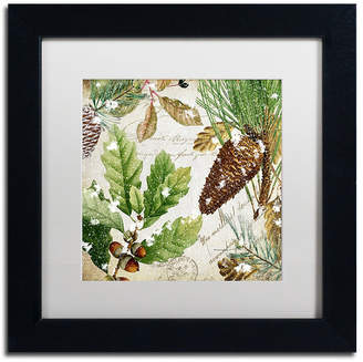 Trademark Global Color Bakery 'Snow Cones Ii' Matted Framed Art